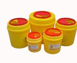 A FDA plástico descartável Médica Biohazard Sharp Containers