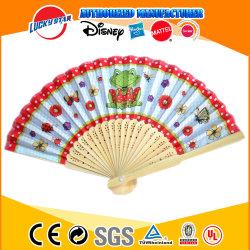 Plegable de bambú Abanico para la promoción de los juguetes