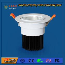 2.5/3/4/5 дюймовый Легкосплавный встраиваемый светодиодный индикатор початков встроенный IP 20 Потолочные светильники