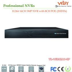 2MP 3MP 4MP 5MP Videorecorder In real time van Nvrs van het Netwerk de Digitale
