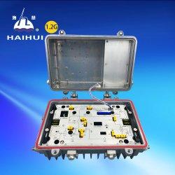 Câble tronc 87~1200MHz Outdoor CATV amplificateur de ligne avec AGC