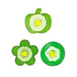 Bain de voyage de savon Forme personnalisée comprimés avec du savon Fleur de fruits de feuille de formes et couleurs différentes pour cadeau