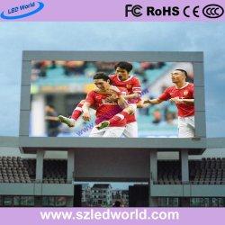 P10 высокой яркости для использования вне помещений Фиксированный настенный светодиодный индикатор видео