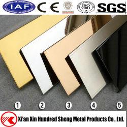 Цвет 8K наружного зеркала заднего вида из матового полированного AISI 201 304 321 316/лист из нержавеющей стали