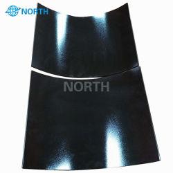 4mm 5mm 6mm resistente al calor de cerámica negro curvo Proveedor de vidrio