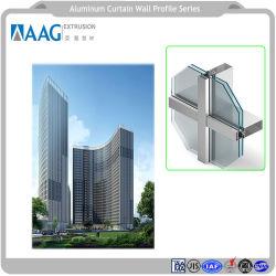 Vetratura vetro anodizzato/parete a tendina LED di diversi colori e vari Sistema
