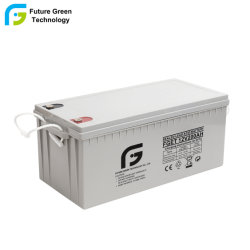 12V 200Ah de alta capacidad de la fábrica de baterías de generador de ciclo profundo