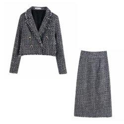 Rivestimento di Short di struttura dei vestiti delle nuove donne di modo con il pannello esterno diritto di struttura