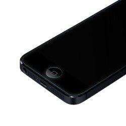 Commerce de gros 0,21 mm et antireflet pour iPhone 9H5 protecteur d'écran verre trempé