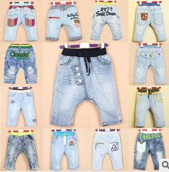 Оптовые цены на 2014 Разработчик высокого качества для мальчиков джинсы