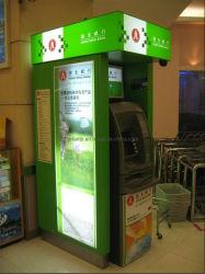 ATMお金ディスペンサーのキオスク(ATM04)