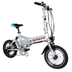 Fabrik-Großverkauf 16 Inch-eingebaute Batterie, die elektrisches Fahrrad (JB-TDR01Z, faltet)