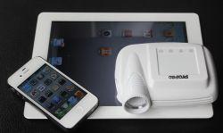 iPod、iPhone (PROPAD)のための小型プロジェクター