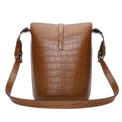 Las mujeres de moda hombro señoras bolso de cuero mujer bolsos de cuero hechos a mano de la cuchara