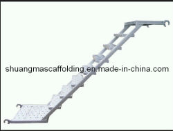 Fr12810 Construction Ringlock Échelle de l'acier d'Échafaudage
