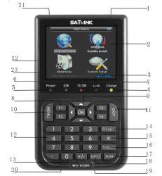 DVB-S ЗСТ цифровые спутниковые Finder Sat-Link дозатора (WS-6908)
