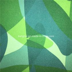 Ldm007 Imprimir la piel de melocotón de microfibra poliéster tejido sarga para prendas de vestir