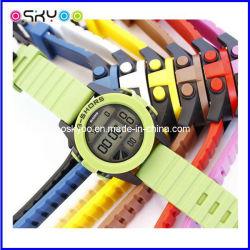 Logo Highquality 3ATM Waterproof LCD DIGITAL Electronic Watchをカスタマイズしなさい