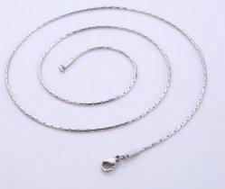 Catena rotonda popolare di Boston del cavo di collegare dell'acciaio inossidabile per il disegno in rilievo del braccialetto della collana