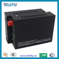 FC Single Fibre 10/100/1000m'émetteur-récepteur à fibres optiques