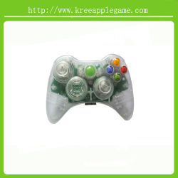 明確なShell CaseおよびxBox 360 Wireless ControllerのためのKits