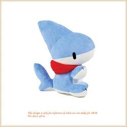 Bambola di pezza giocattolo molle bello della peluche da 12 pollici del cucciolo dello squalo