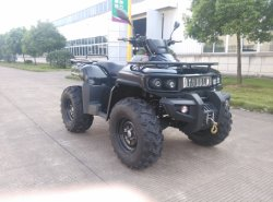 Elektrisches Utility ATV mit 3kw 72V Moto, 4*4 Wheels Drive mit Shaft Drive