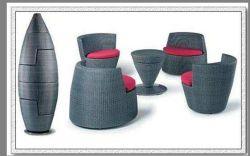 Для отдыхающих обеденный стол и стул с зонтик (MD-6035)