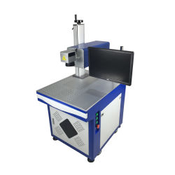 machine de marquage au laser laser UV Focuslaser Test verre découpé au laser
