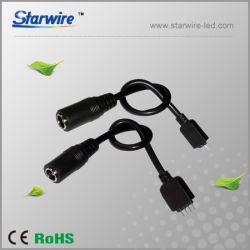 LEDのアクセサリ(端はDCのコネクターによってワイヤーを接続する)