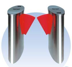 Sistema di controllo di accesso dei cancelli girevoli della barriera della falda di sicurezza (CF238FLG-YE)