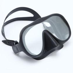 Het beste Verkopende MistMasker van het Vrij duiken van het Glas van de Apparatuur van het Vrij duiken Frameless