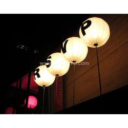 Luz de balões infláveis maravilhosa populares com iluminação de LED para decoração de terceiros