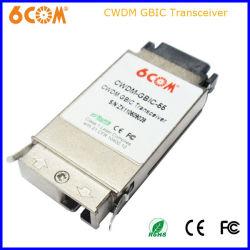 Cisco 60km 1,25 g SFP CWDM Module émetteur-récepteur GBIC avec Ddmi