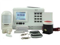 TFT Farbe große LCD-Anzeigen-drahtloses inländisches Wertpapier-Warnungssystem (KI-P8200)