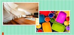 L'eau -À base de résine acrylique Pâtes de bois de la peinture de couleur