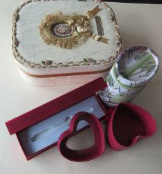 حقيبة ورقية مجوهرات ورق نبيذ خشبية