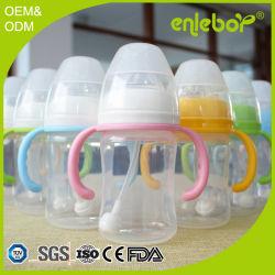 Sans BPA Polypropylène nouveau-né d'écoulement naturel de biberon du convoyeur