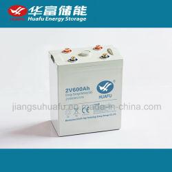2V 600ah弁はUPSのための手入れ不要の鉛酸蓄電池を調整した