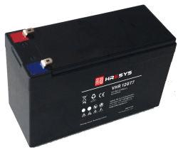 범용 상단 터미널 AGM VRLA 12V 7ah 납산 배터리