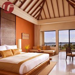 Hôtel 5 Étoiles fabricant de meubles de style moderne en bois Meubles de chambre lit King Size