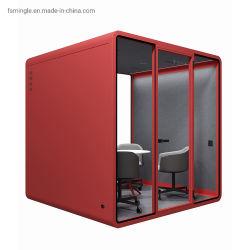 Self-Assemble Mini bureau de la vie privée insonorisées gousses/réunion Booth/Sound Studio/Salle d'enregistrement