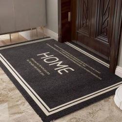 Bobina de PVC impresso o tapete de porta para uso doméstico