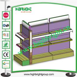 Matériau en bois Épicerie Lotion télécabine d'affichage étagère