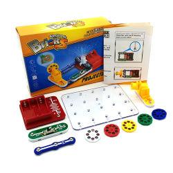 Projektions-Lampen-Dampf-Spielwaren für Kind-pädagogisches erlernendes integriertes Baustein-Wissenschafts-Physik-Experiment