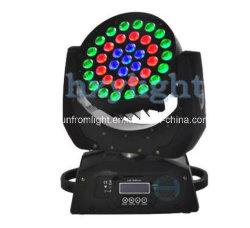 DJ-Verein-Licht 37PCS x 9W Mini-LED bewegliches Hauptwäsche-Summen-Licht