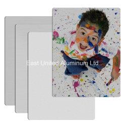 Blad/Plaat van het Aluminium van de Sublimatie van de Oppervlakte van de Borstel van de deklaag de het Lege