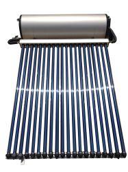 conduit de chaleur pressurisé chauffe-eau solaire 200L