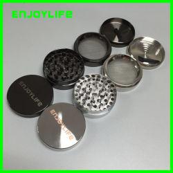 Prezzo di fabbricazione 4 strati della smerigliatrice, smerigliatrice di fumo in lega di zinco di DIY, smerigliatrice dell'erba
