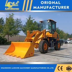 CE ISO SGS OEM 1600kg 굴절식 전방 휠 로더 및 포함 Yunnei 엔진 판매